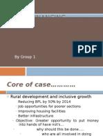 Micro financing & Micro Borrowers