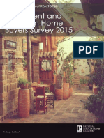 2015 Investment and Vacation Home Buyers Survey 2015-04-01