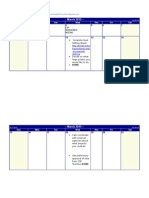 CSP March-July Calendar 2015