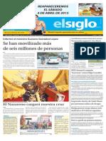 Edición impresa 1 de abril 2015