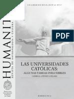 Cuaderno Humanitas 27 - Universidad Católica