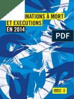 Rapport annuel Amnesty International sur la peine de mort dans le monde