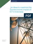 Ten Ideas to Maximize the Socioeconomic Impact of ICT in Indonesia_FINAL