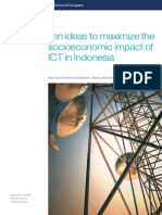 Ten Ideas to Maximize the Socioeconomic Impact of ICT in Indonesia_FINAL