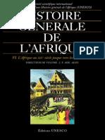 Histoire Générale de l'Afrique, T6
