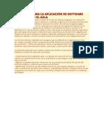 Plan Clase Para La Aplicación de Software Educativo en El Aula 2015