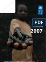UNDP Central African Republic - Annual Report 2007
