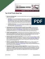CIA Study Tips