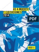 La pena de muerte en 2014