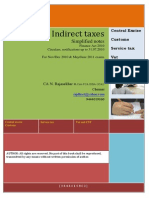 19 Indirect Taxes Simplified Notes