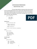 Praktikum Bahasa Pemrograman Modul08 Struct