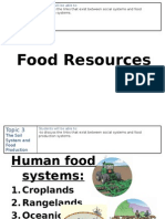 topic3 just food resources