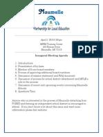 April 2 Meeting Doc