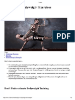 Top 10 Bodyweight Exercises