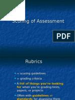 Scoring Rubrics.ppt