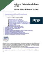 Criando Uma Aplicação Orientada Pelo Banco de Dados Com o PHP