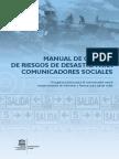 Descarga manual de la Unesco para informar sobre desastres Manual Desastres