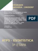 Apresentação 3ª Estapa Da ATPS Estatítica