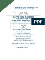 01_el Proceso Genérico Tradicional de Internacionalización