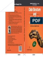Data Structure and Algorithmic Thinking With Python Cover