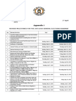 Roadmap for 2015-2016 General Elections