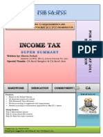 3 Revision Summary of Income Tax