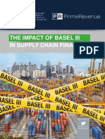 The Impact of Basel III in Supply Chain Finance