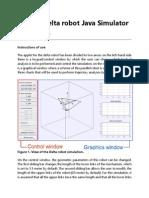 Delta Robot Simulator [Manual]