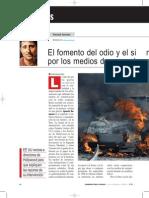 Los Medios de Comunicación y Las Guerras