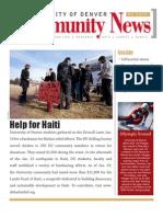 February 2010 Community News