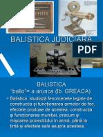 Balistica Judiciara Nou