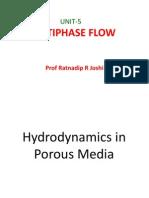 MT Unit 5 Multiphase Flow Prof R R Joshi