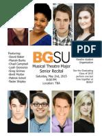 BGSU Senior Recital
