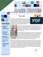 April 2015 Gracenotes