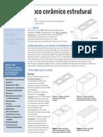 Bloco Ceramico Estrutural - Pini
