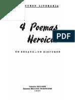 Brigadas Dominicanas - 4 Poemas Heroicos (Un Ensayo - Un Discurso)