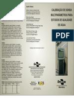 CALIBRAÇÃO DE SONDA MULTIPARÂMETROS PARA ESTUDOS DE QUALIDADE DE ÁGUA