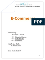 E Commerce Report
