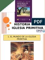 Historia de La Iglesia Primitiva Estudio pastoral