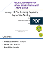 Design of Pile Bearing Capacity by Insitu Testing