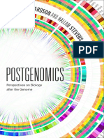 Postgenomics edited by Sarah S. Richardson and Hallam Stevens