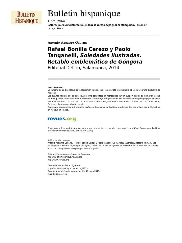 Bulletinhispanique 3673 116 2 Rafael Bonilla Cerezo Y Paolo
