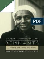 Remnants by Rosemarie Freeney Harding with Rachel Elizabeth Harding