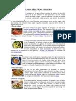 Arequipa Platos Tipicos Economia