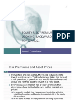 Equity Risk Premiums