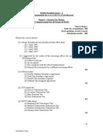 It - Model Question Paper