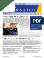 Kappa Kommunicator Issue 2