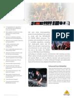 Behringer FX2000-Product Info Doc