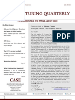 Restructuring Quarterly Q1 2015