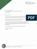 portfolio ii letter